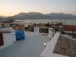 L'ampio terrazzo di copertura con splendida vista sul golfo e i Monti Aurunci